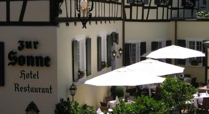 hundefreundliches Romantik Hotel zur Sonne in Badenweiler-Therme