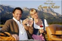 Hunde Willkommen im Vital Hotel Ritter in Tannheim / Tirol Region